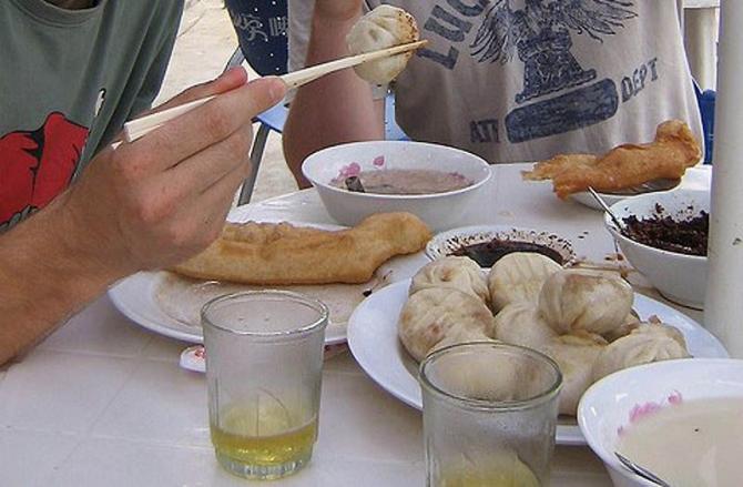 Petit déjeuner mongol