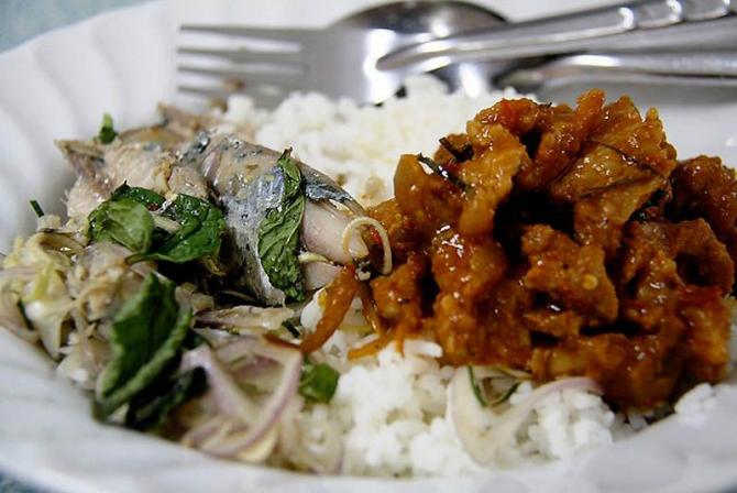 Petit déjeuner thaï