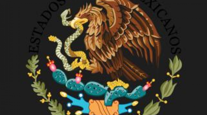 The most beautiful shields of states of Mexico