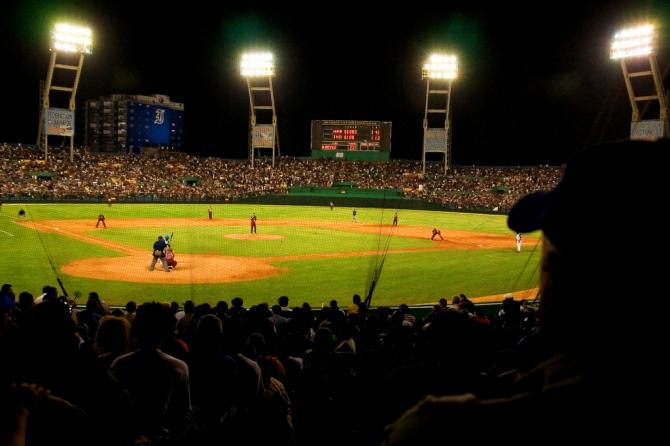 Latin American Stadium in Havana