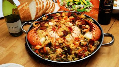 Туристические любимые испанские блюда