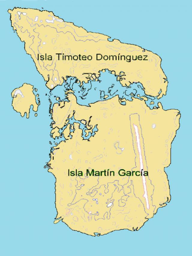 Остров Мартин Гарсия