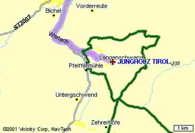 Jungholz, Austria within Germany.