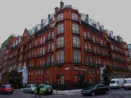 Suite 212 of the Claridges Hotel, Yugoslavia within the United Kingdom.