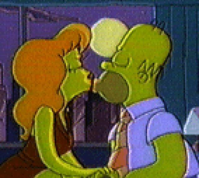 Homer and Mindy (Margot Zavala)