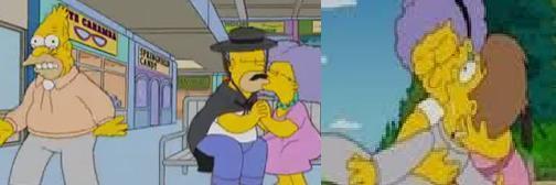 Homer and Patty
