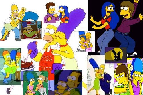 Homer und Marge