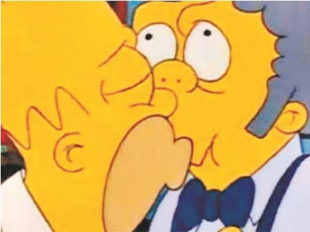 Homer und Moe