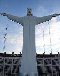 Christ des Noas ... 21,80 Mts.
