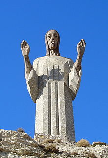 Christus des Otero ... 20 Mts.