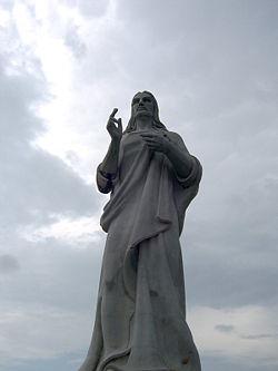 Christus von Havanna ... 20 Mts.