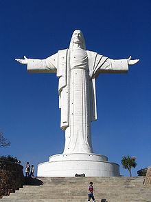 Cristo da Concórdia ... 40,44 Mts.