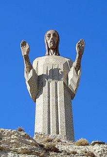Cristo del Otero ... 20 Mts.