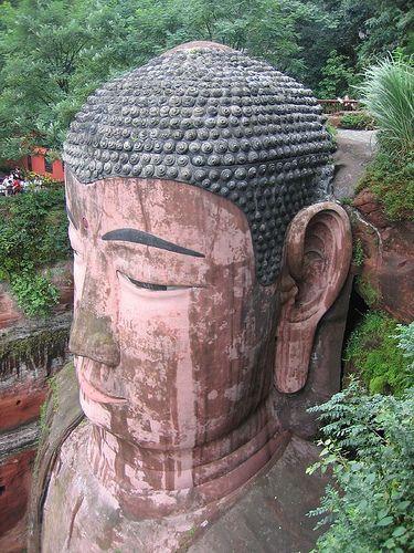 Leshan Bouddha Géant ... 71 Mts.