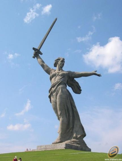 Motherland, Russia ... 85 Mts.