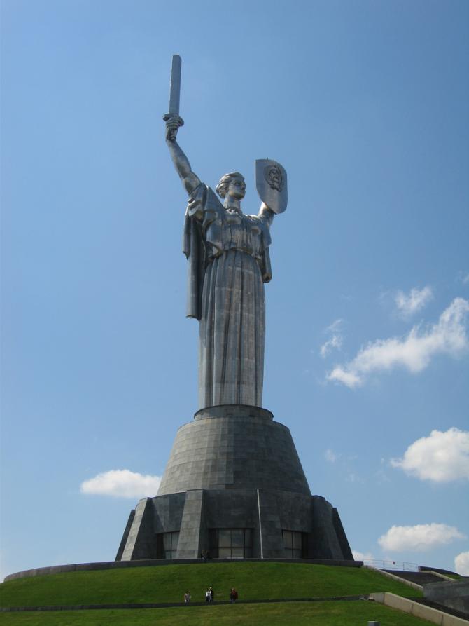 Pátria, Ucrânia ... 102 Mts.