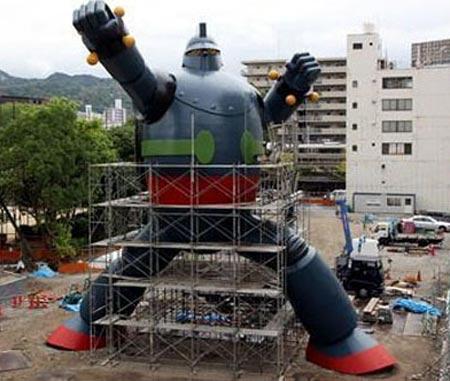 Robô Kobe ... 15 Mts.