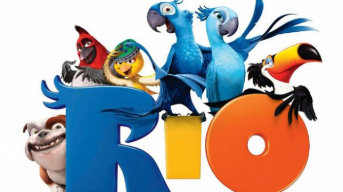 The animals of the movie Rio
