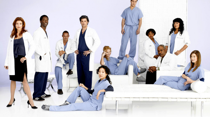The best couples of Grey's Anatomy