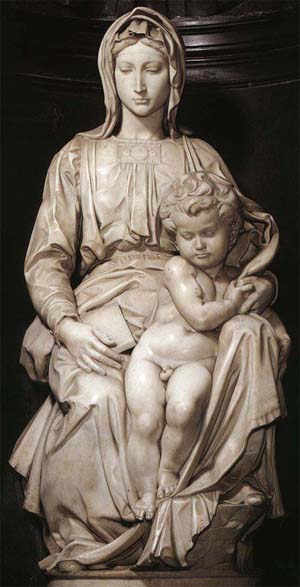 Богоматерь Брюгге или Богородица с младенцем