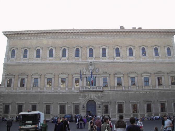 Фарнезе дворец (Рим)