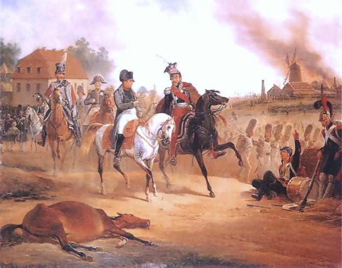 """Batalha de Leipzig: """"Considerada pelos historiadores como a batalha mais importante e decisiva das guerras napoleônicas"""""""