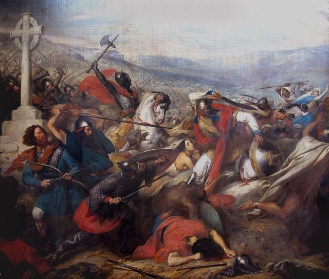 """Batalha de Poitiers: """"Considerada pelos historiadores como uma batalha mais que decisiva para o futuro da religião européia"""""""