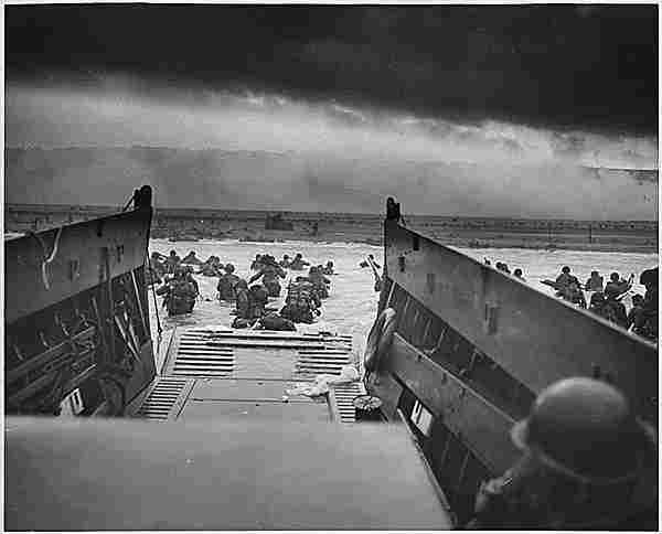 """Battle of Normandy: """"Considered the most important battle of the Western Front, which includes the largest landing in history"""""""