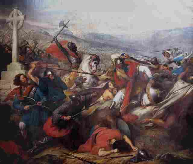 """Battle of Poitiers: """"Considered by historians as a battle more than decisive for the future of the European religion"""""""