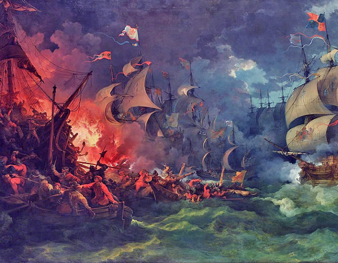Battle of the Invincible Navy