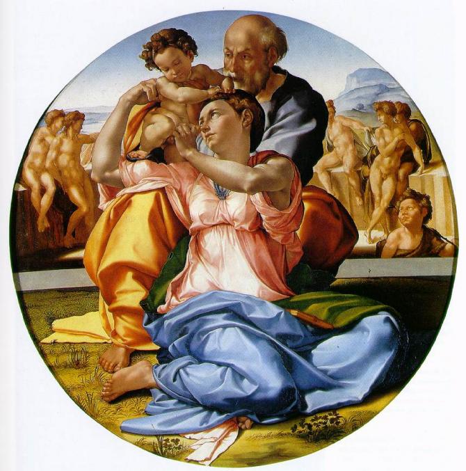 La Sagrada Familia or Tondo Doni