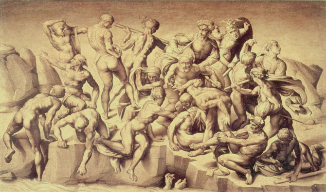 The Battle of Cascina