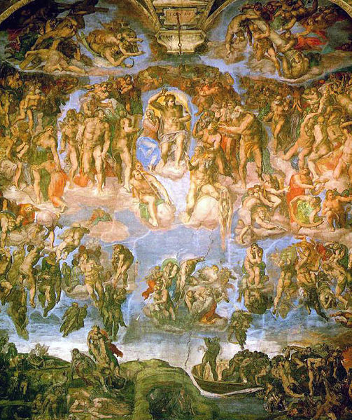 The Last Judgment or The Universal Judgment