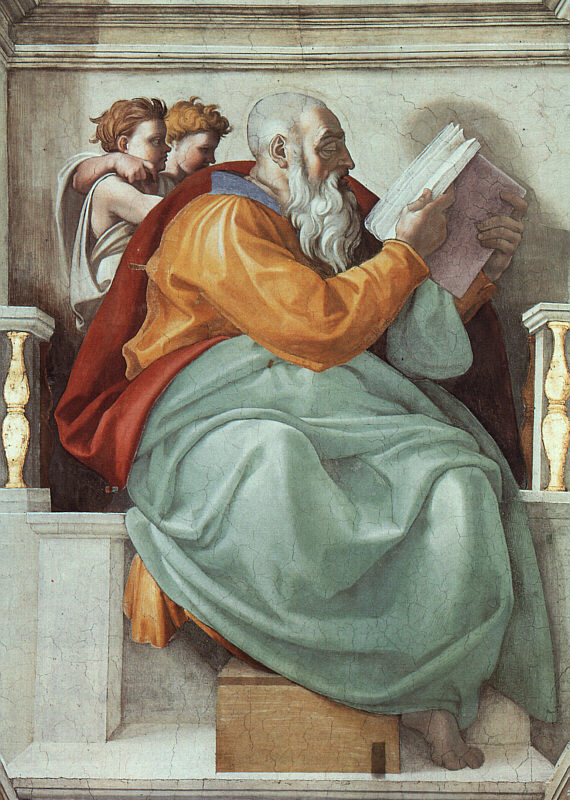 The prophet Zacharias