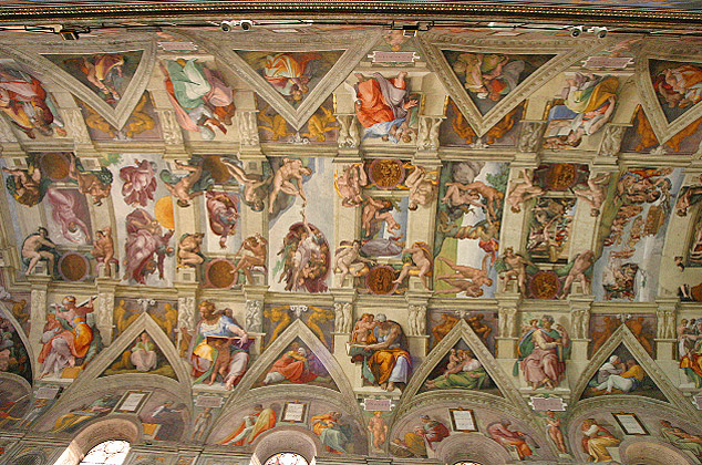 Vault of the Sistine Chapel