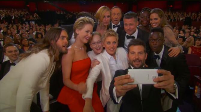 Els millors selfies de famosos