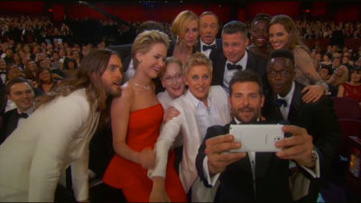 Les meilleurs selfies de célébrités