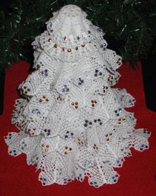 Árvore de Natal de malha