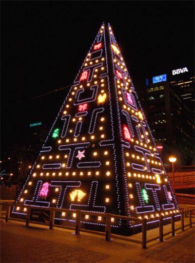 Árvore de Natal de Pacman