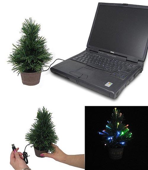 Árvore de Natal USB