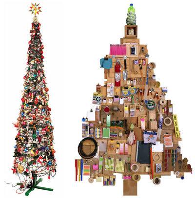 Árvores de Natal adesivas (vinil)