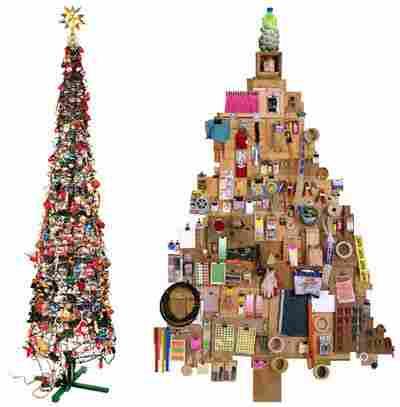 Christmas trees adhesive (vinyl)