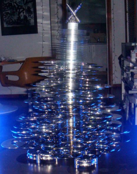 Discos rígidos de árvore de Natal