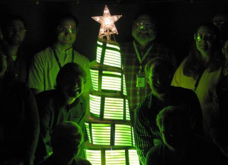 Flexible Oled Panel Christmas Tree