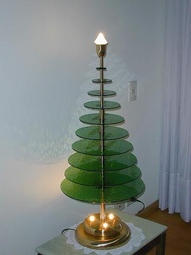 Lâmpada da árvore de natal