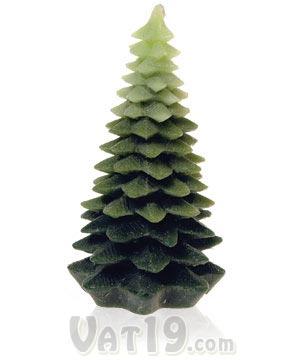 Vela da árvore de natal