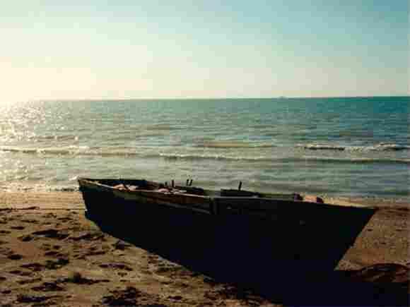 Caspian Sea Lake in Asia with 371,000 square km.