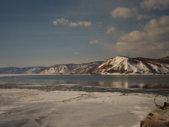 Lake Baikal in Asia with 30,500 square km.