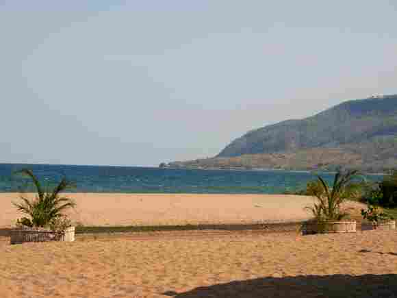 Lake Malawi in Africa with 30,044 square km.