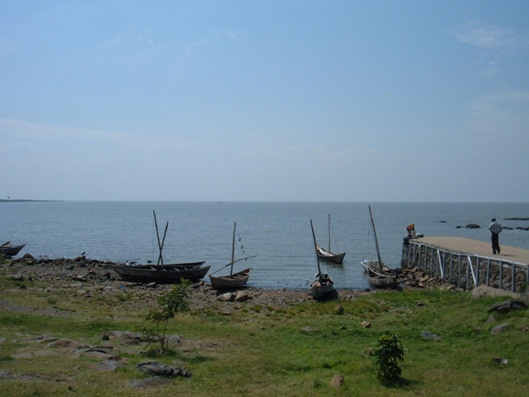 Lake Victoria in Africa with 68,800 square km.